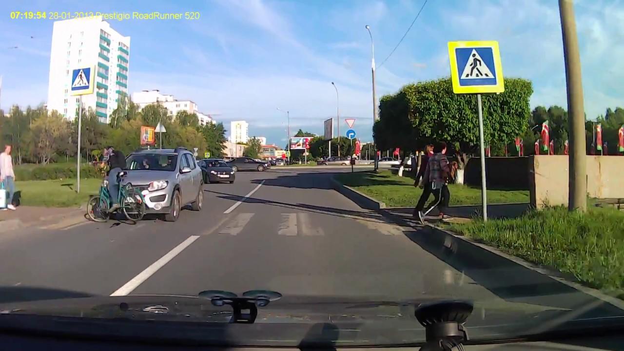 Спровоцировал ДТП и скрылся велосипедист в Набережных Челнах