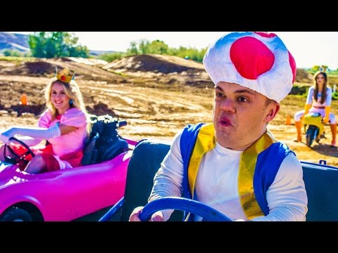 Mario Kart Love Song meets Real Life!
