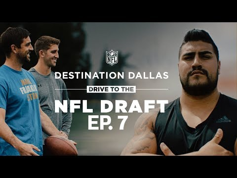 Aaron Rodgers Gives Rosen Advice & Hernandez Reflects on His Journey   Drive to the NFL Draft Ep. 7