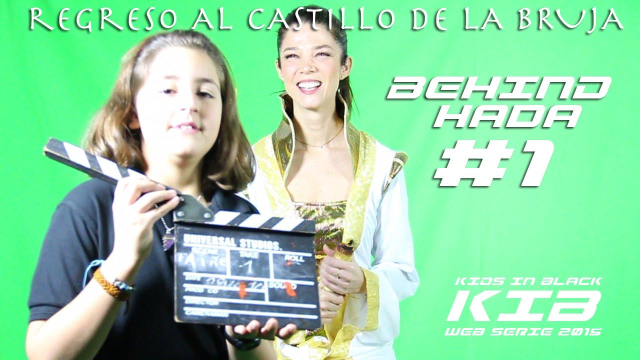 Regreso al Castillo de la Bruja - Kids In Black 2015 - Detrás de las cámaras - Reina Hada #1