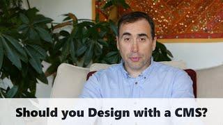 Static Website Design vs CMS Based Design