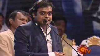 harrish jayaraj speaks about  A R Rahman @ ARR honored by cine musicians union