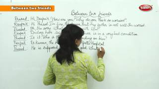 Conversation Between two friends || Spoken English Learning Basic For Beginners || Spoken English
