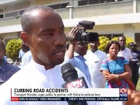 Curbing Road Accidents - News Desk on JoyNews (26-3-19)