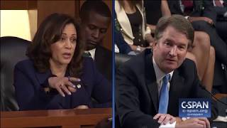 WATCH: Kamala Harris Suggested Kavanaugh Spoke To Trump's Law Firm About Mueller. She Was Lying