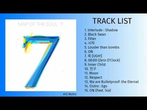 BTS (방탄소년단) MAP OF THE SOUL : 7 [FULL ALBUM PLAYLIST]