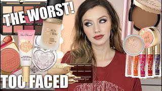 BEST & WORST OF TOO FACED | Don't Waste Your Money! EP. 1 | Jazzi Filipek - Video Youtube