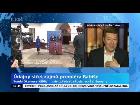 Tomio Okamura: Údajný střet zájmů premiéra Babiše.