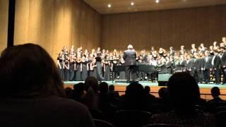 AHS Fall Concert 2015 - Chamber Choir