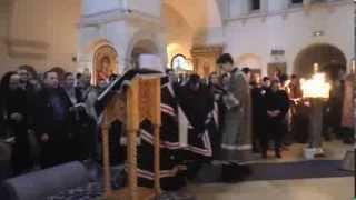 Служение митрополита Арсения в Зачатьевском монастыре