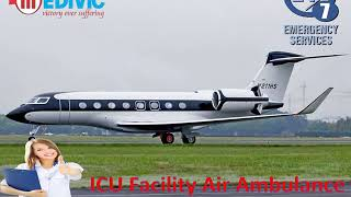 Hire Reliable Air Ambulance Service in Varanasi with ICU Facility