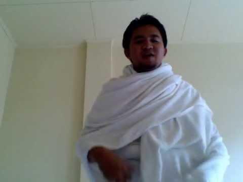 Video cara memakai pakaian ihram
