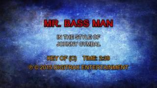 Johnny Cymbal - Mr. Bass Man (Backing Track)