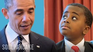 Kid President meets Barack Obama