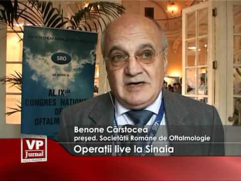 Operaţii live la Sinaia
