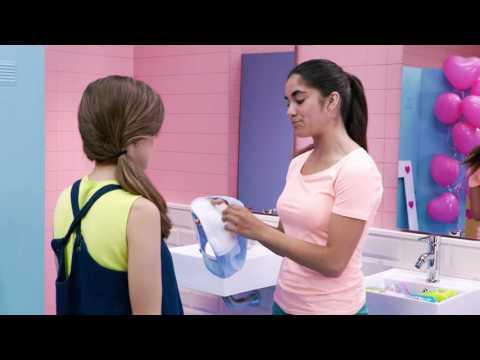 #03 Cómo ponerse una compresa. WC Confidential