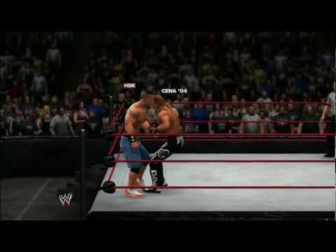 WWE 13 - Universe Mode - Sunday Night Heat - Shawn Michael's vs John Cena (W14) (Epic)