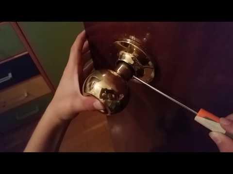 Como cambiar pomo de una puerta interior