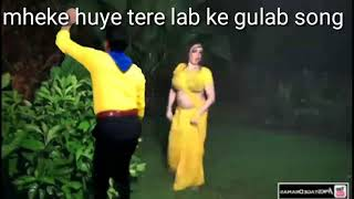 Mheke huye tere lab ke gulab song - YouTube