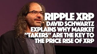 "Ripple XRP: David Schwartz Explains Why Market ""Takers"" Are The Key To The Price Rise Of XRP"