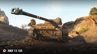 AMX 13 105 | Мастер на карте Редшир