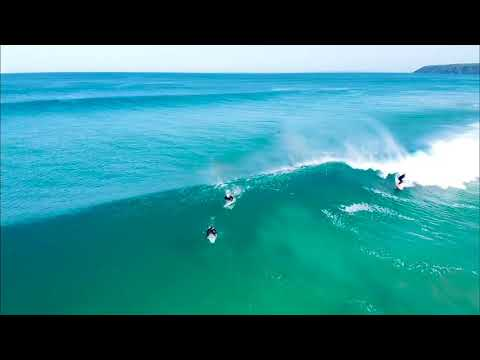 Beautiful surf conditions at Parsons Beach