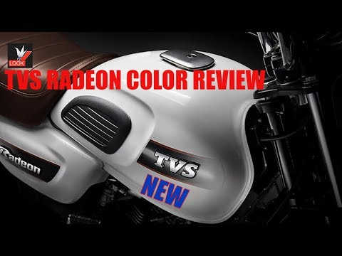 New Tvs Radeon 110 All Color Bike Review Specs Price Bike