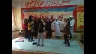 استعراض عشان لازم نكون مع بعض مدرسة محمود سامي البارودى 2 يوم  12_11_2013