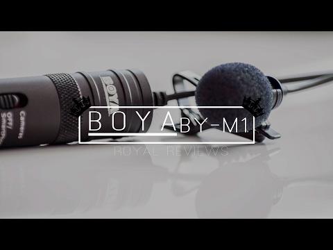 Das BESTE Ansteckmikrofon 2017 für NUR 20€ | 👑-Review BOYA BY-M1