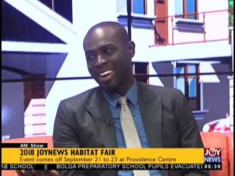 2018 JoyNews Habitat Fair - AM Show on JoyNews (20-9-18)