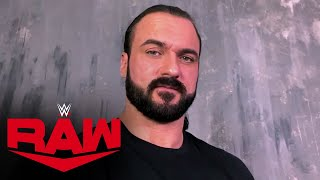 Drew McIntyre addresses testing positive for COVID-19: Raw, Jan. 11, 2021
