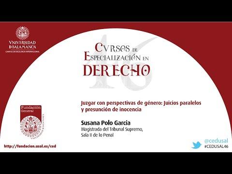 46 CED - Juzgar con perspectiva de género: juicios paralelos y presunción de inocencia