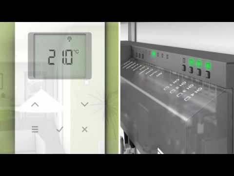 Floor Heating and Cooling control system Roth Energylogic Touchline -Installation-