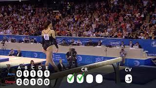 Understanding Gymnastics D Score (Catalina Ponor)