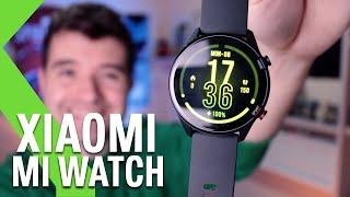 Xiaomi Mi Watch ANÁLISIS - ¡Aspirante a ser EL MEJOR SMARTWATCH!