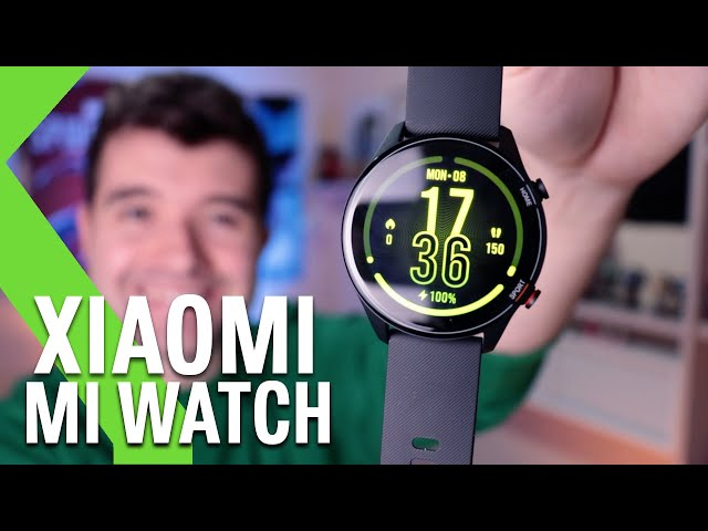 Xiaomi Mi Watch ANÁLISIS - ¿Un competidor para el Apple Watch?