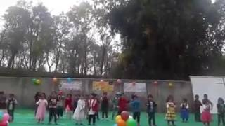 Awesome Act By Cute Little Champs At Adharshila Sen Sec School Palampur