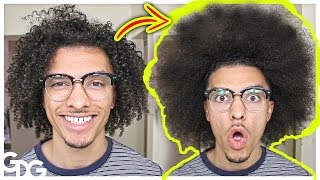 Reverting My Curls To An Afro!