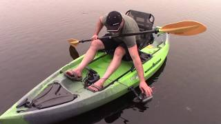 The Kayak Fish Finder And Transducer Mounting Solution With Magnetics