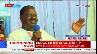 NASA leader Raila Odinga borrows from the tales of Shakespeare to explain Kenya's situation