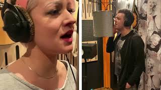 Kadr z teledysku RAZEM tekst piosenki Agnieszka Wiechnik & Rafał Konieczny i Przyjaciele