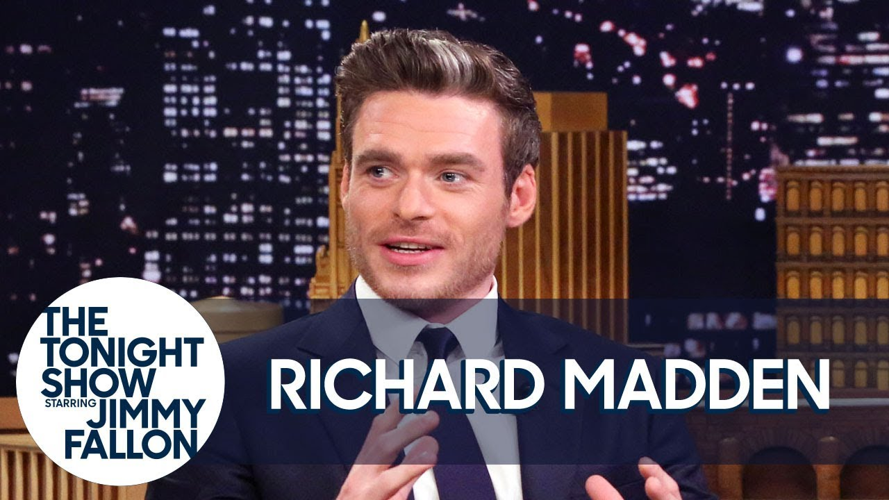 Richard Madden Teaches Jimmy Scottish Slang and Reflects on Game of Thrones thumbnail
