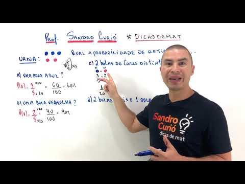 Aula 00 | Probabilidade - Parte 02 de 03 - Matemática