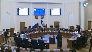 Состоялось очередное заседание Правительства Новгородской области