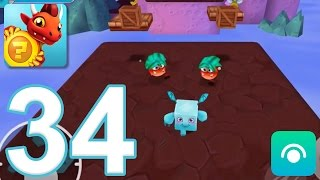 Dragon Land - Gameplay Walkthrough Part 34 - Episode 11: Levels 1-5 (iOS, Android)