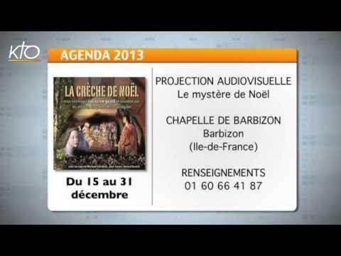 Agenda du 06 décembre 2013