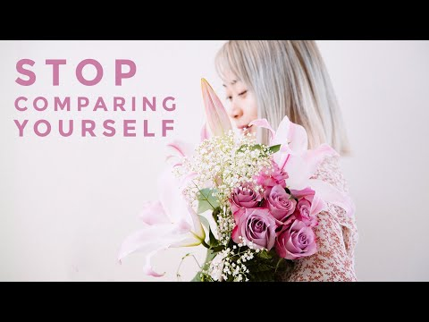 How to Stop Comparing Yourself to Others (A Flower Blooms)