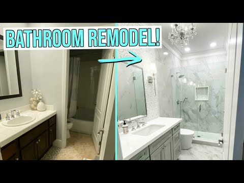 2 EXTREME BATHROOM REMODELS! Master + Guest Bathroom Gut Renovation!