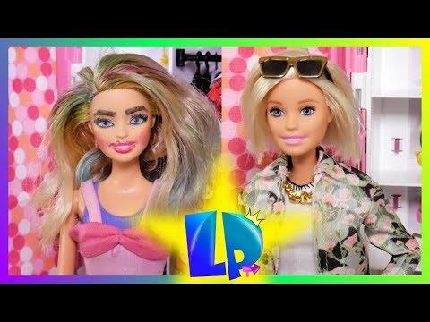 """Rodzinka Barbie - """"Bądź piękna"""" Totalne metamorfozy Barbie!!!"""