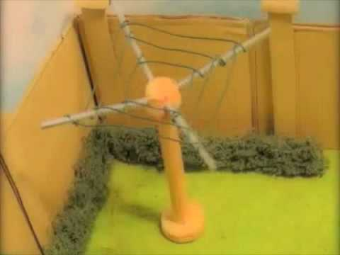 The Washing Line - Plasticine Animation